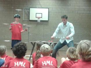 Jongleer en multitask training op HML