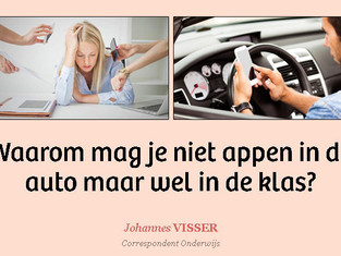 Artikelen van Johannes Visser over multitasken.