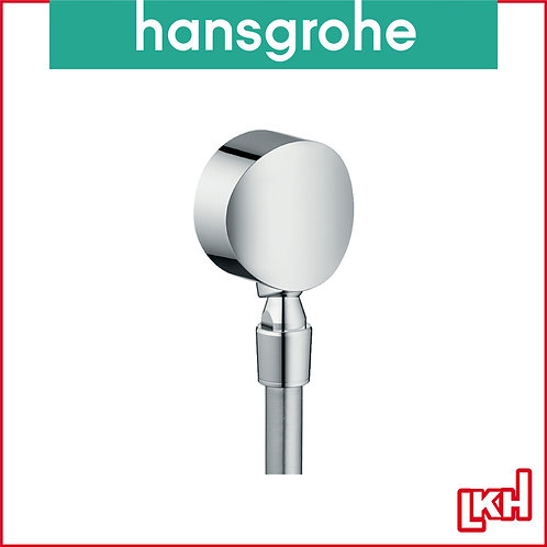 Hansgrohe FixFit Wall Outlet S with Non-return Valve and Pivot Joint 27506000