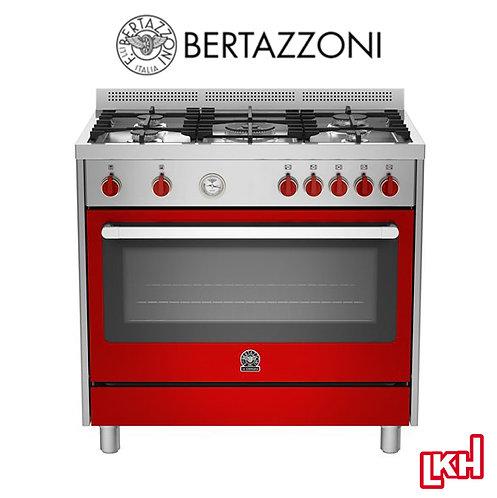 Bertazzoni RIS95C61LBX 90 cm 5-burner Range Cooker Electric Oven