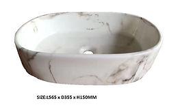 8183-D Marble Basin