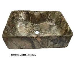 8025A-C Marble Basin