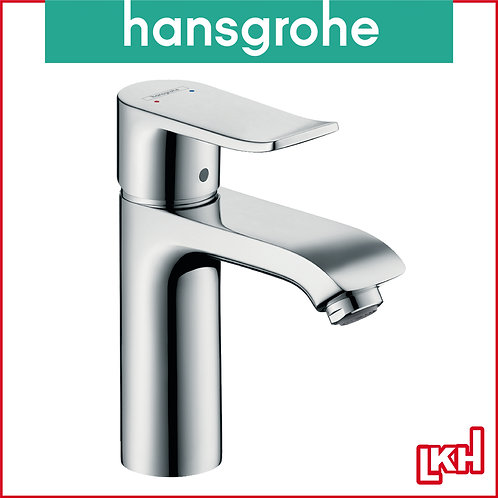 Hansgrohe Metris Single Lever Basin Mixer 110 with Pop-up Waste Set 31080019