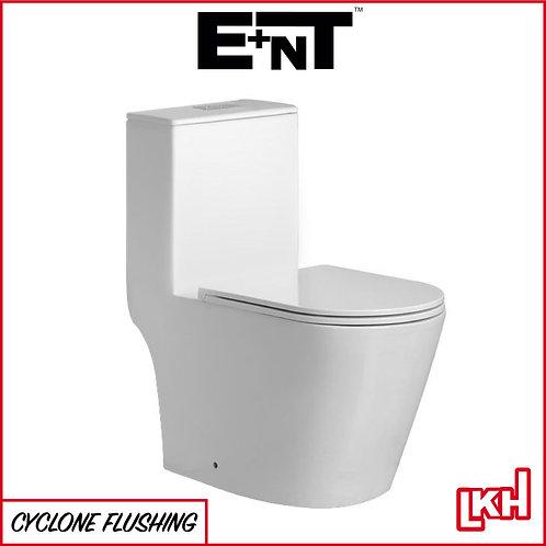 E+NT Eddy Cyclone Flush One-Piece Water Closet