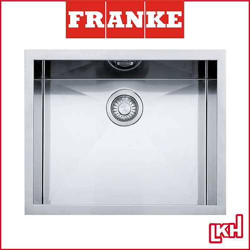 Franke Planar PZX 110-54 Stainless Steel Sink Under Mounted