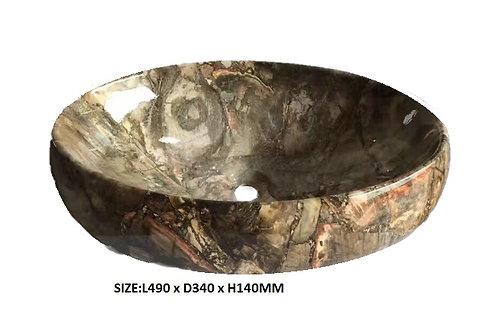8252B-C Marble Basin