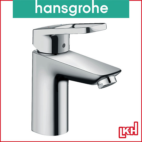 Hansgrohe Logis Loop Single Lever Basin Mixer 100 With Pop-up Waste Set 71151019