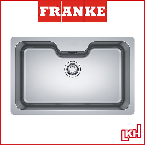 Franke Bell BCX 110-75TL Stainless Steel Sink Under Mounted