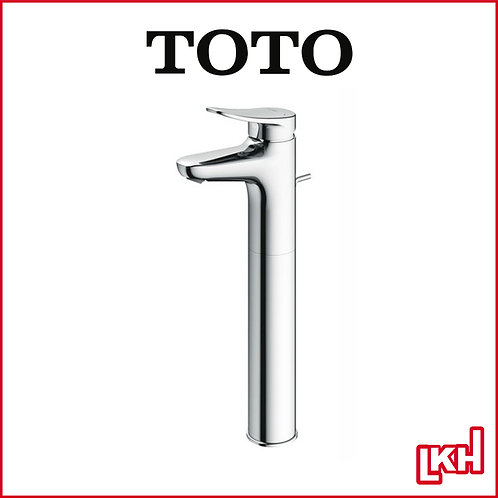 TOTO LF Series Single Level Tall Basin Mixer w Pop Up Waste TLS04306S