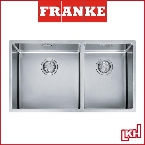 Franke Box BXX 220-74 SBL/SBR Stainless Steel Sink Under Mounted