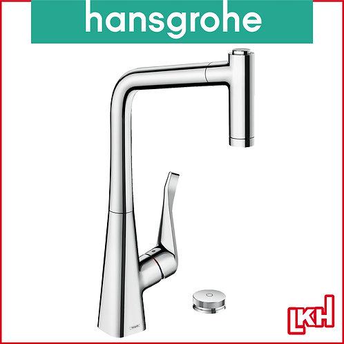 Hansgrohe Metris Select M71 2-hole Single Lever Kitchen Mixer 320 73806000