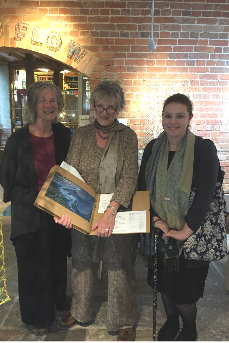 Lauran Sundin, Jane Atkinson & Eleanor Parkes at Ebb'n'Flow