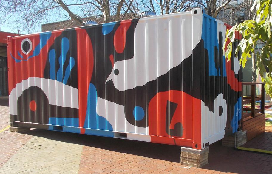 Creative Container Mural Ignacio Quereje