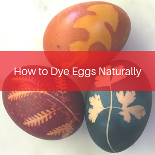 How to dye eggs beautiful colours using simple ingredients you can find at home.