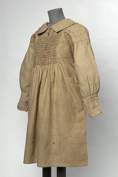 English Linen Smock, Circa 1860 Victoria & Albert Museum, London