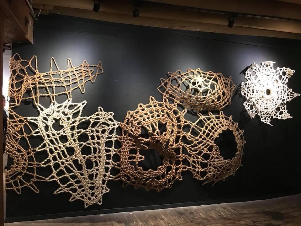 Mani Lace Wall by Manca Ahlin
