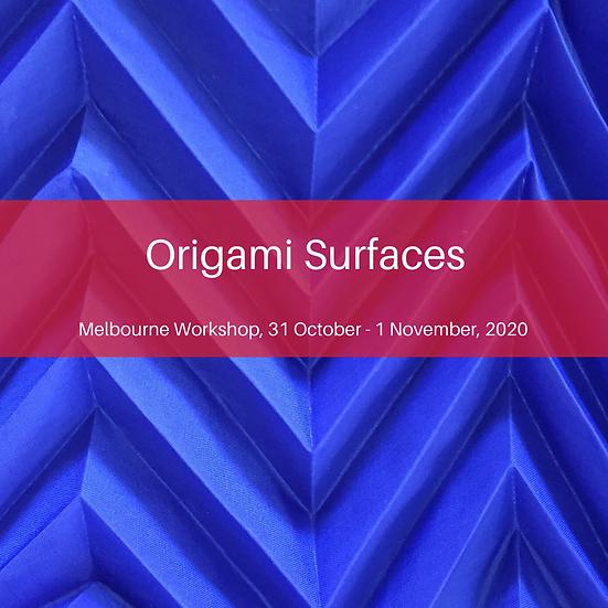 Origami Surfaces Melbourne Workshop