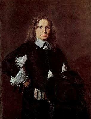 Frans Hals, Portrait of a man, 1650-1652