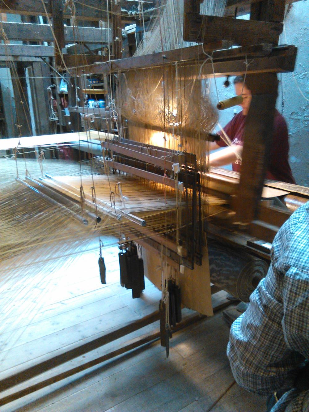 A Master Velvet Weaver, Bevilacqua, Venice