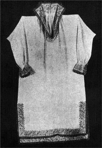 Late 16th Century Linen Smock, Metropolitan Museum of Art, New York
