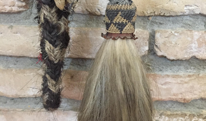 Horse hair tassel