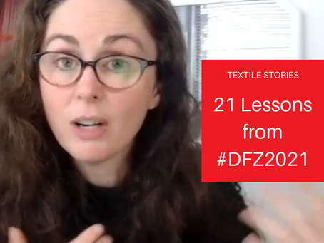 21 Lessons from #DFZ2021