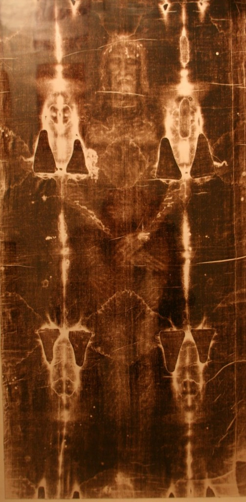 The Shroud of Turin: Although it is actually a Medieval textile this simple linen sheet has become an icon of extraordinary importance and in some ways  a reference point for Christian burial.