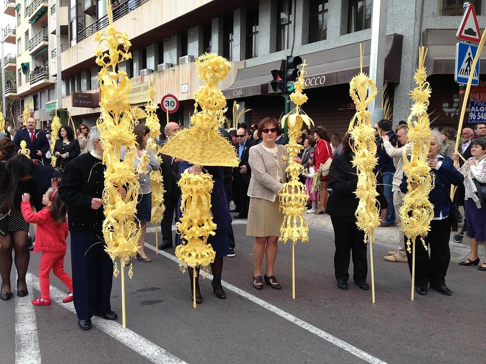 Palm Sunday parade, Elche