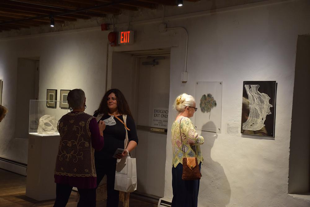 Opening, work by Veronika Irvine, Denise Watts and Jane Atkinson