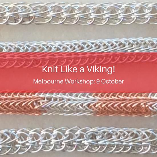 Knit Like a Viking! Melbourne Workshop