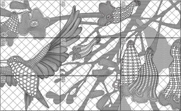 Paula Hart, Jacaranda, Drawings