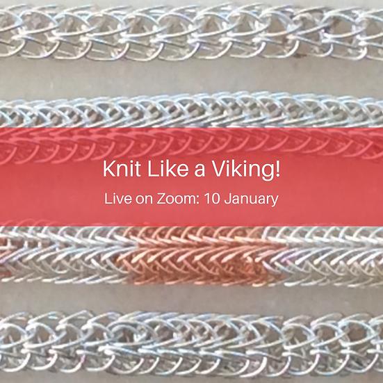 Knit Like a Viking! on Zoom