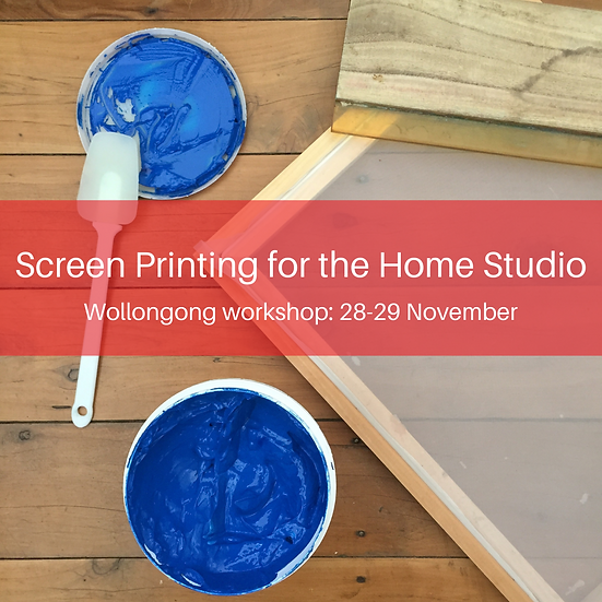 Screen Printing for the Home Studio