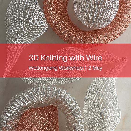 3D Knitting with Wire