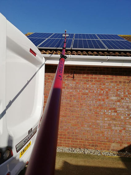 solar panel cleaning portsmouth window cleaners