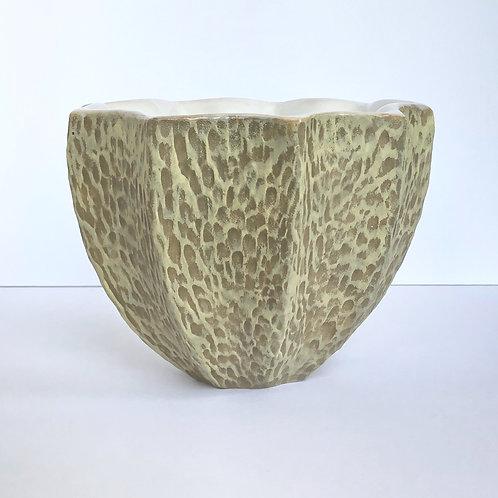 Star Bowl Round Carve Tan