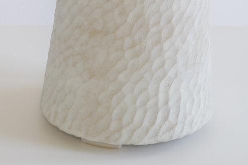 Alabaster Conical Lamp Option