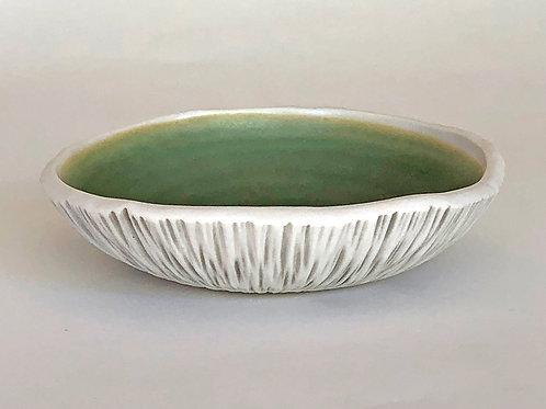 Green Shell Bowl