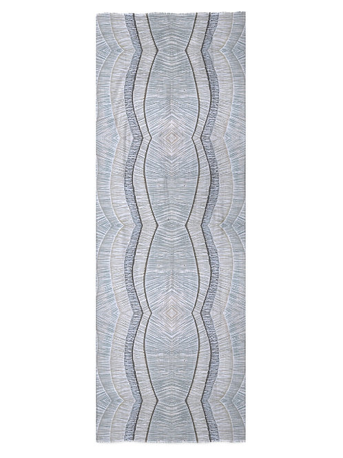 Topographic G Modal Scarf