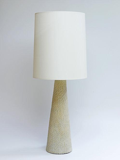 Alabaster Conical Lamp