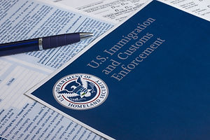 US Customs and Border Protection form to