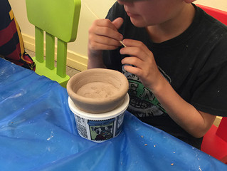 Sculpture and Ceramic - Second Week At MSV Summer Camps!