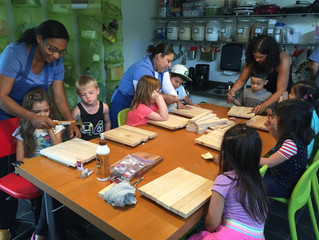 Week 1 of July Summer Camp: Introduction to Carpentry