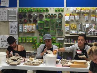 MSV Teachers Ceramics Training Workshop at Lesley Ceramics.