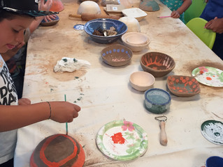 Week 2 of July Summer Camp: Introduction to Sculpture and Ceramic