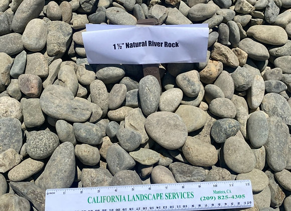 "1 1/2"" River Rock"