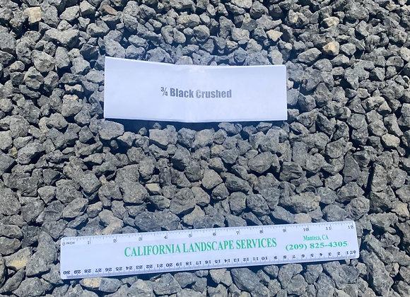 "3/4"" Crushed Black"