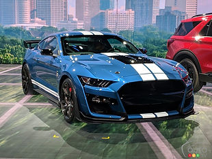 Voiture américaine : Ford Mustang Shelby