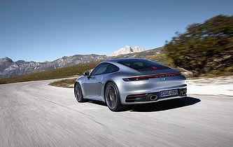 Voiture luxe : coupe 911 porsche
