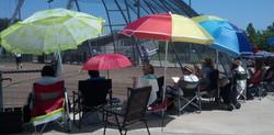 Umbrellas at Laguna